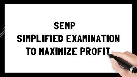 SEMP (Simplified Examination to Maximize Profit)