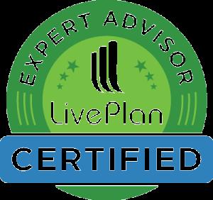 LivePlan Certified Expert Advisor